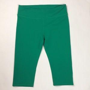 Fabletics Green Running Capri - Medium
